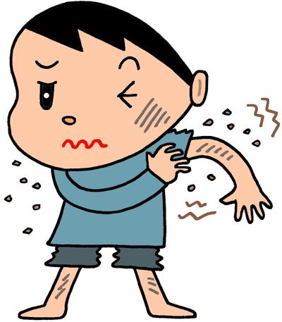 コリン性蕁麻疹